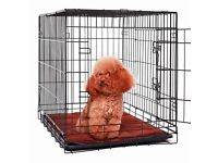 Medium Sized Dog Cage with Mat BRAND NEW Unused and Boxed.