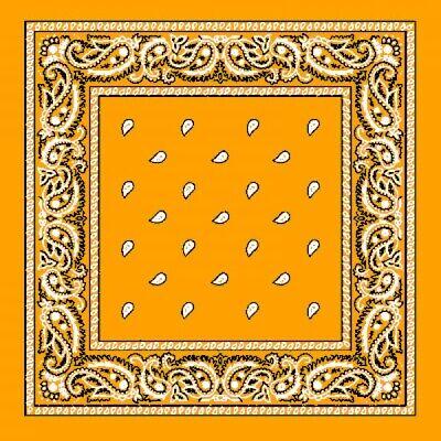 dana gold/orange Kopftuch Halstuch NEU & OVP (Gold Bandana)