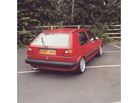MK2 Golf CL 1.6 Turbo Diesel