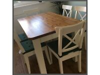 NEW HANDMADE SOLID STUNNING 5FT PINE FARMHOUSE TABLE!