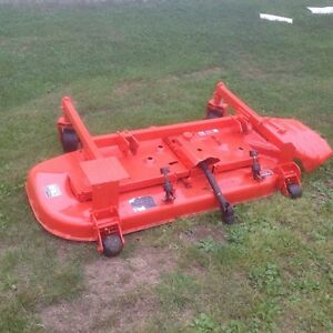 Kubota 60 inch front finish mower