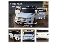 Range Rover HSE Style, 12v, Parental Remote & Self Drive,