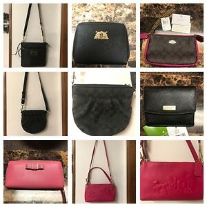 Coach, Kate spade and juicy couture