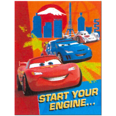 Cars Birthday Invitations (Disney Cars 2  Birthday Party Supplies)