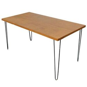 5ft-Vintage-Wood-Hairpin-Iron-Legs-Dining-Table