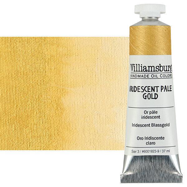 Williamsburg Handmade Oil Paint 37 ml - Iridescent Pale Gold