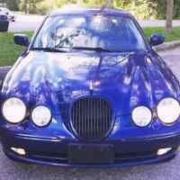 A real luxury car very clean