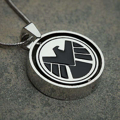 Marvel Comics Agents Of Shield S H I E L D  Vs Hydra Allegiance Pendant Necklace