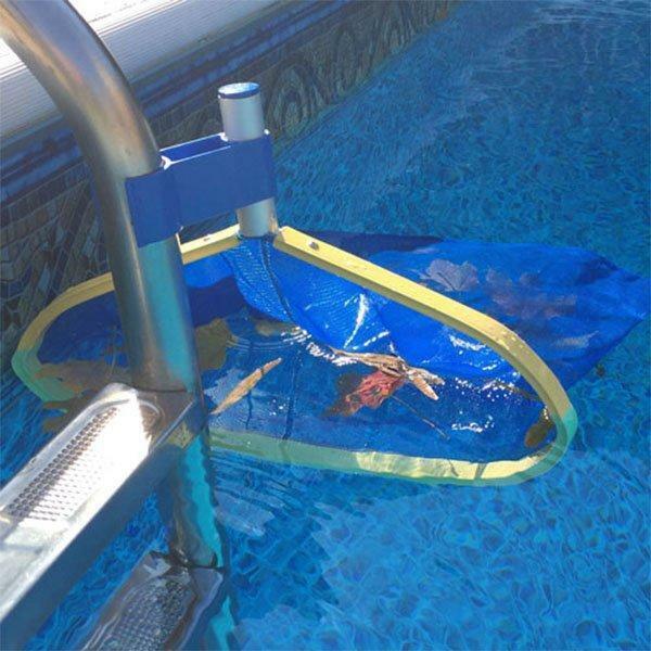 Leaf Bone - Leaf Net Skimmer Clip - Pool Maintenance Accessories