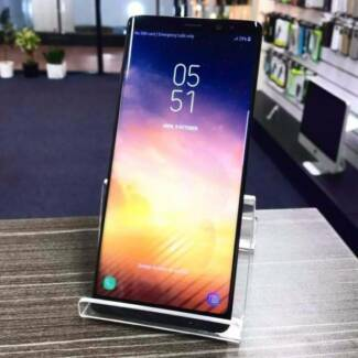 AS NEW SAMSUNG NOTE 8 64GB BLACK IN BOX AU MODEL UNLOCKED