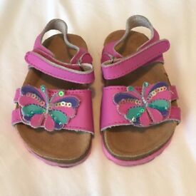 John Lewis Girls Sandals infant size 4