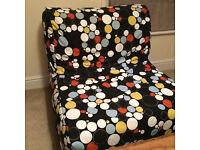 Ikea fold up futon chair bed - single