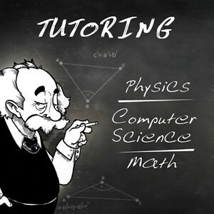 Tutor for Physics, Chem,Computer Science, Engineering and Math Kitchener / Waterloo Kitchener Area image 1