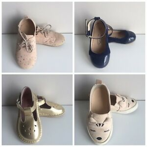 Zara Toddler Girl Shoes Lot (8 pairs) Size 5-6