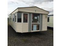 Static caravan for sale - Bk bluebird senator 37x12 2 bedrooms double glazed central heated