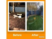 Grass cutting hedge trimming garden services decking fitting maintenance | Fencing | turfing