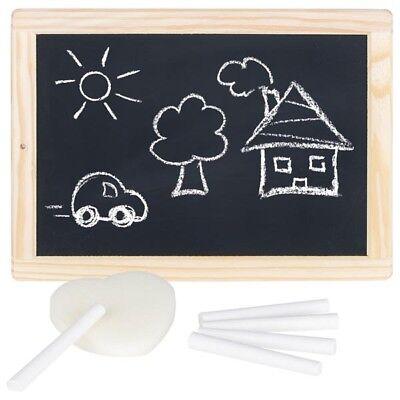 Schreibtafel Kreidetafel Kindertafel Maltafel Schultafel Holz goki 58952