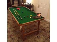 Riley 6ft Pool/Snooker Table