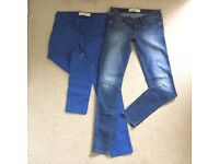 """2 Pairs of Ladies HOLLISTER Jeans. Size 3 W26"""""""