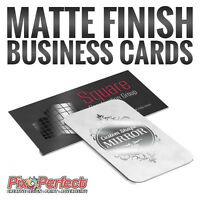★Custom Matte Business Cards with Spot UV Printing ✂$5 COUPON