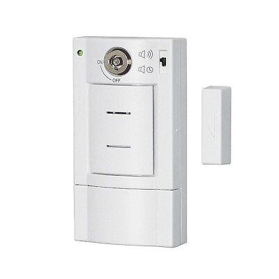 Türalarm mit Schlüsselschalter Pentatech DG6 Öffnungsmelder Türsicherung Alarm