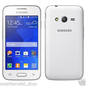 new white samsung galaxy trend 2 lite sm g318h smart phone android unlocked ebay. Black Bedroom Furniture Sets. Home Design Ideas