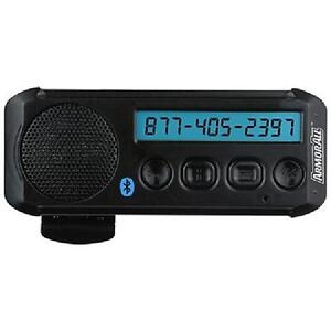ArmorAll Handsfree Bluetooth Speakerphone with Visor Clip & Caller ID - AHF9-1002-BLK