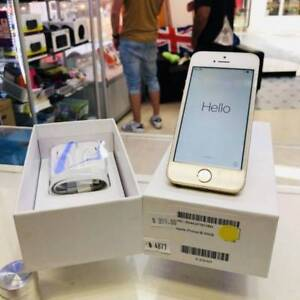 iPhone 5S 32GB Gold Tax Invoice Unlocked Warranty Box Surfers Paradise Gold Coast City Preview