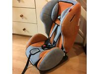 Recaro young expert plus with iso fix base