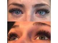 Volume & classic individual eyelash extensions