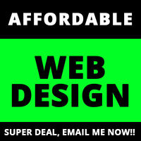 CHEAP WEBSITE DESIGN that will SURPRISE YOU