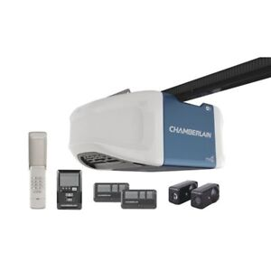 CHAMBERLAIN 3/4HP BELT GARAGE DOOR OPENER INSTALLED WIFI