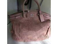Coach pink handbag genuine item purchased in USA