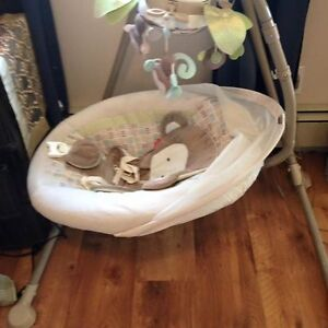 Fisher Price Swing and Vibrating chair