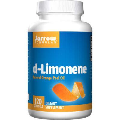 Jarrow Formulas D-Limonene 500mg X 120 Softgel Säure Reflux Detox - 500 Mg 120 Gels