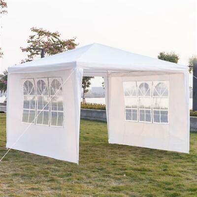 "10"" x 10"" Outdoor Canopy Party Wedding Tent Heavy Duty Gazebo Patio Shelter BBQ"