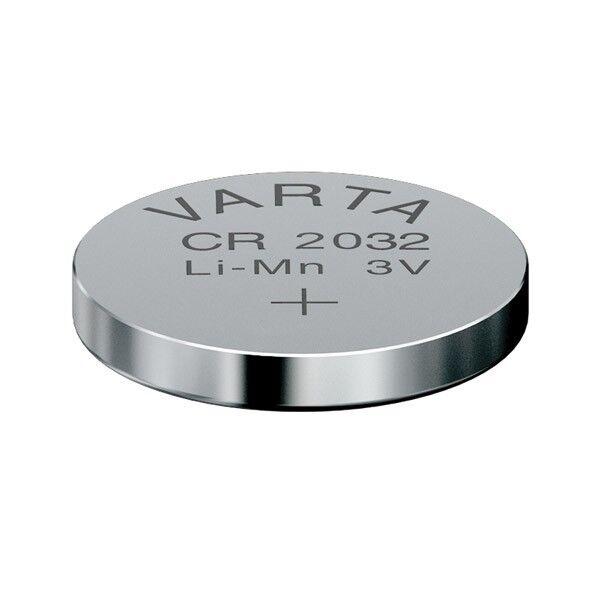 5x Knopfzelle Varta CR2032 Lithium 3V Batterien 5 Stk