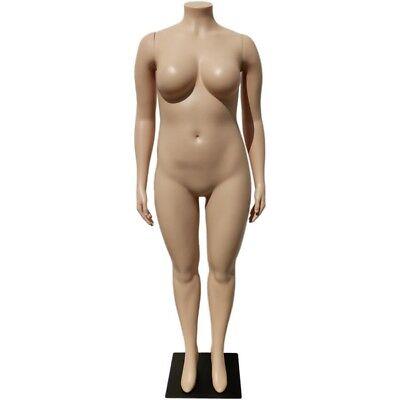 Mn-288 Plus Size Female Headless Plastic Mannequin Local Pickup Los Angeles