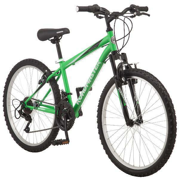 """Roadmaster Boy's 24"""" Mountain Bike, 18"""" Alloy Wheels, Twist"""