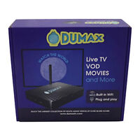 New Dumax 490 Q IPTV HD Quad Core South Asian Android 4.4 TV box