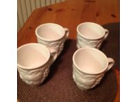 Brand new marks and spencers coffee mugs x4