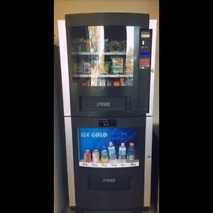 Combo Vending Machine in a Busy Mississauga Location