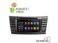 Mercedes-Benz Full Hd internet Dvd Stereo Gps Android Sat naw 4G For -Benz E/CLS/G Class W211