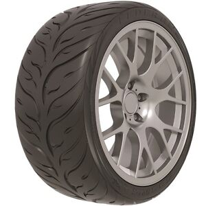 215-40-17 FEDERAL - 595 RS-RR - 87W STREET LEGAL SEMI SLICK HIGH PERFOMANCE TYRE
