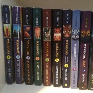 Warrior Cat Book Collection