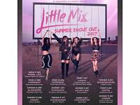 Little Mix Summer Shout Out 1 Gold Circle ticket at Caldicot Castle 13/7/17