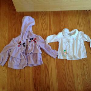 Vêtements pour fille - 2 ans - 15 morceaux