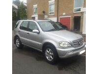 Mercedes ML270 Inspiration Full Leather Top Spec