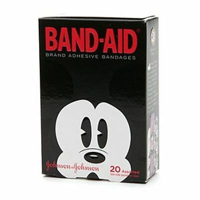(BAND-AID Bandages Mickey Mouse Assorted Sizes 20 Each)
