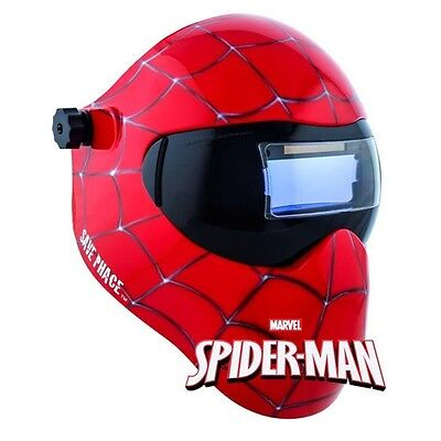 New Save Phace Gen Y Series Efp Welding Helmet Marvel Spider-man 180 49-13 Adf